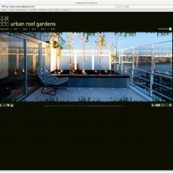 Urban Roof gardens Website